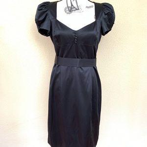 Betsey Johnson Women's Black Sheath Dress Size 8
